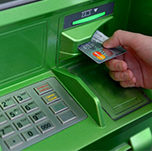 Network of PrivatBank branches and ATMs