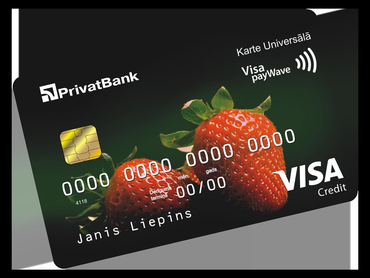 Kredītkarte Universālā*